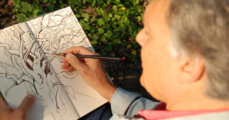 Atelier Peter Schneider Malkurse Zeichenkurse Malreisen Kurzvita